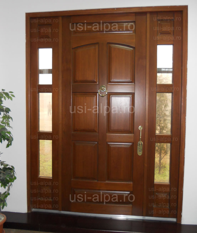 Usi Exterior Casa Preturi Usi Exterior Lemn Usi Exterior
