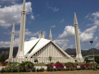 Moscheea Shah Faisal din Pakistan