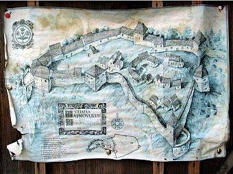 Istorie si turism in Cetatea Rasnovului
