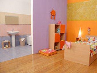 Amenajare apartament mic - dormitor si baie