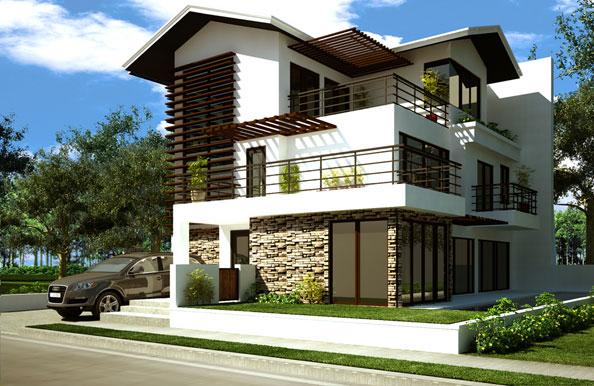 Fatada decisiva pentru aspectul unei cladiri misiunea casa for Fotos de casas modernas con tejas