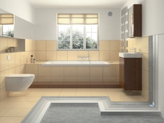amenajare baie - placare baie