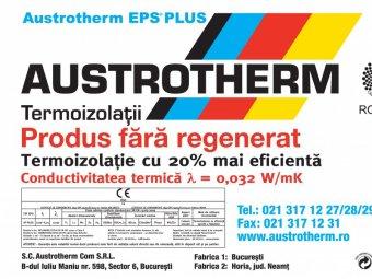 Polistiren expandat grafitat Austrotherm AF-PLUS si polistiren expandat Austrotherm AF80