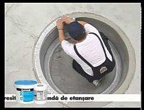 Aplicare hidroizolatie minipiscina (primul strat)