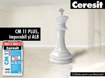 Adeziv marmura CM 11 PLUS alb