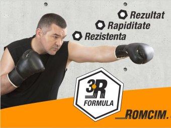 Romcim - Rezultat, rapiditate, rezistenta