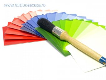 alegerea culorii vopselei pentru peretii casei