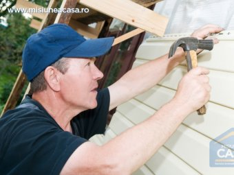 renovarea fatadei - siding fatada din PVC