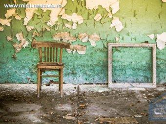Camera cu pereti mucegaiti