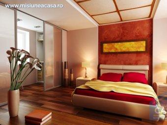 Dormitor in stil chinezesc