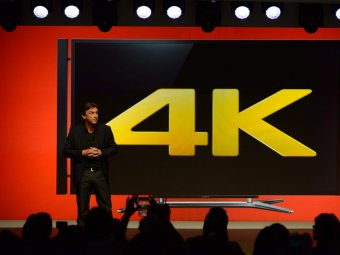 Sony 4K Bravia prezentata la CES 2013
