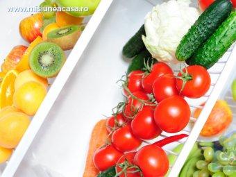 Alimente depozitate in frigider