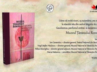 Lansare de carte la Targul International Gaudeamus