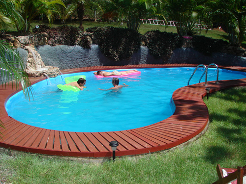 Deck Plans Above Ground Swimming Pools