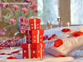 amenajare dormitor valentines day