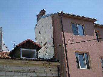 Casa termoizolata gresit cu polistiren expandat