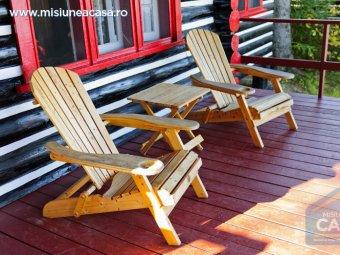 Veranda cu scaune