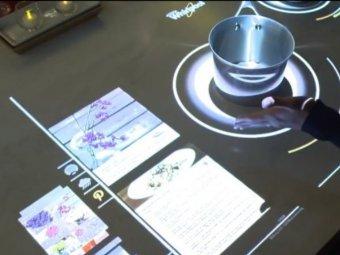 Plita interactiva
