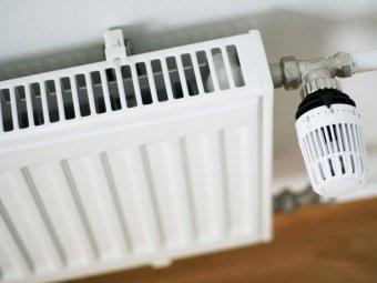 Calorifer cu robinet termostat