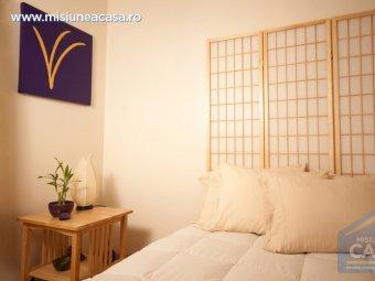 Dormitor amenajat in stil Feng Shui