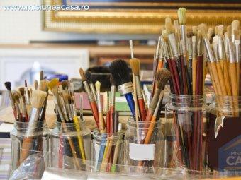 Atelier de pictura acasa