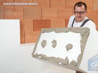 Placa de polistiren de peste 20 de cm grosime