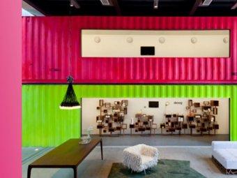 Container colorat