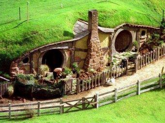 Casa subterana - casa ingropata in pamant