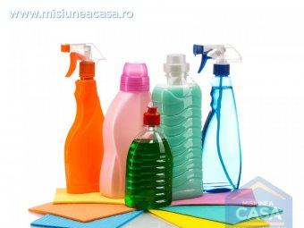 Solutii non-toxice de curatare a locuintei