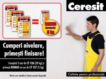 Promotie gleturi Ceresit - Ceresit CT 126, CT 127