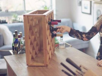 Pinetti Wine Rack