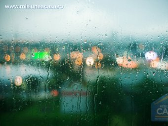 Umiditate pe geam
