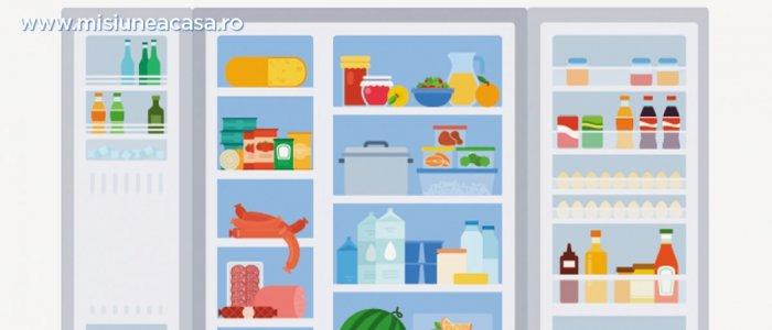 Cum organizezi corect alimentele dn frigider