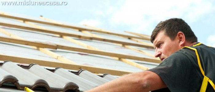 Detalii despre montarea membranelor pentru acoperisuri