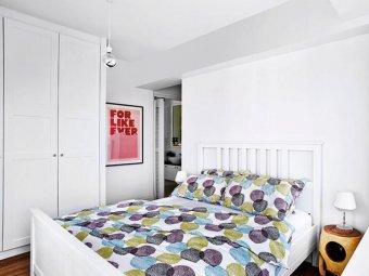 Amenjare dormitor mic alb