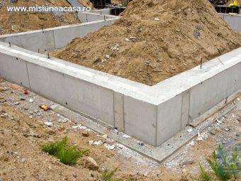 Fundatia unei casei