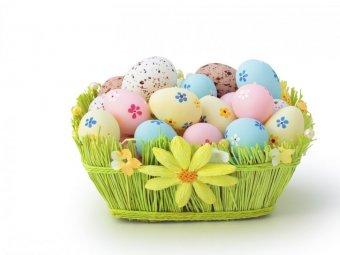 Oua decorate pentru Paste