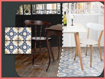 Placile decorative colorate – terrazzo