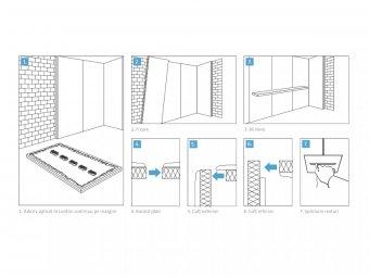 Montare panouri pentru termoizolarea la interior