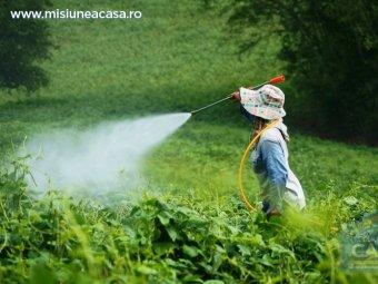 Spray pentru pesticide