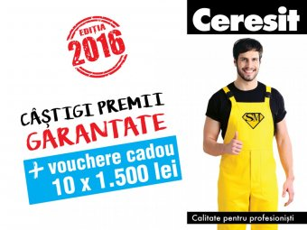 Program SuperMeserias Ceresit 2016