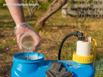 Recipient depozitare pesticide