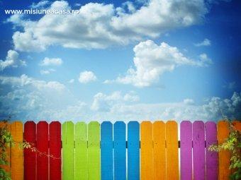 Gard colorat