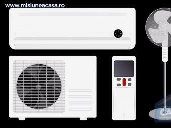 Ventilator vs aer conditionat