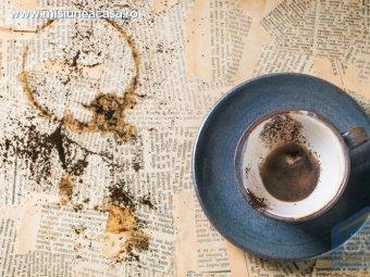 Ceasca de cafea cu zat