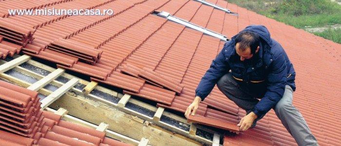 Acoperisul casei: ce presupune montarea unei invelitori din beton