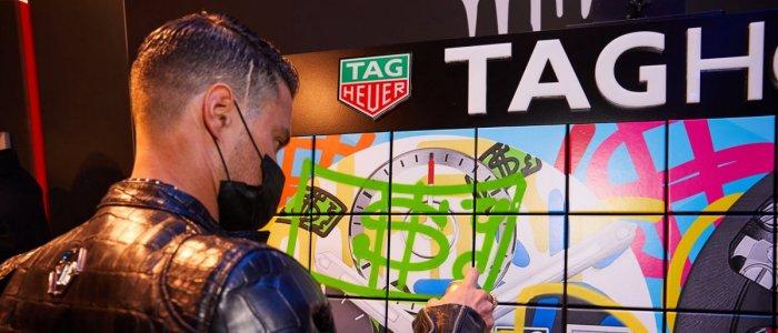 TAG Heuer si Alec Monopoly - o colectie care imbina armonios arta stradala si ceasurile de mana