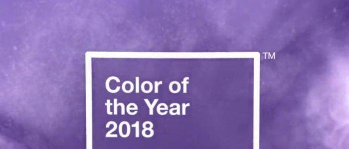 Ultra-violet, aleasa culoarea anului 2018 de catre Institutul Pantone