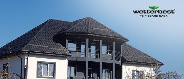 Coama acoperișului – rol, tipuri, accesorii și montaj