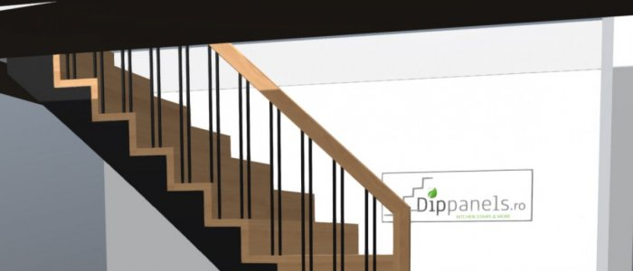 Configurarea unei scari din lemn in cativa pasi simpli